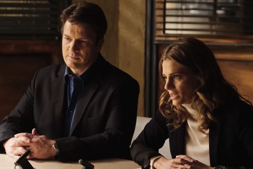 Nathan+Fillion+and+Stana+Katic+film+one+of+the+last+episodes+of+%E2%80%9CCastle.%E2%80%9D