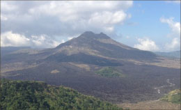 Volcano Threatens Indonesian Island