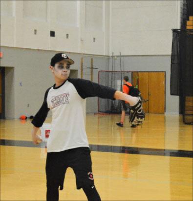 Thespian Makes Baseball Team