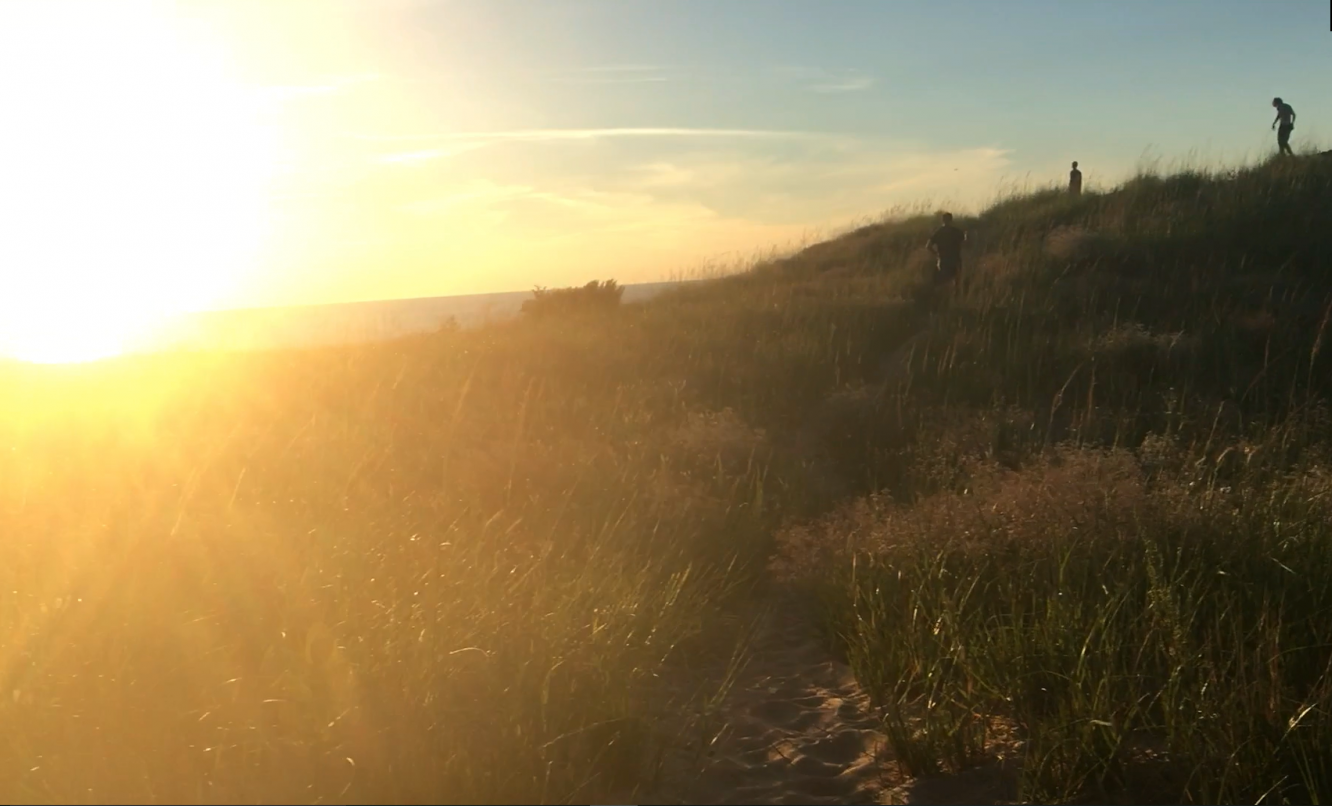 Sleeping Bear Dunes in Traverse City was voted