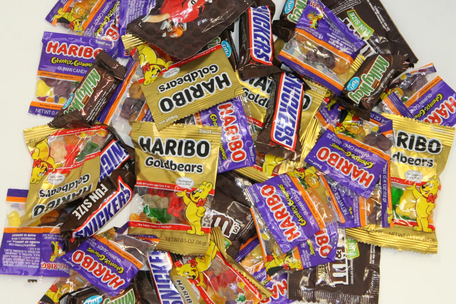 The Debate on Chocolates vs candy sweets on Halloween unfolds.