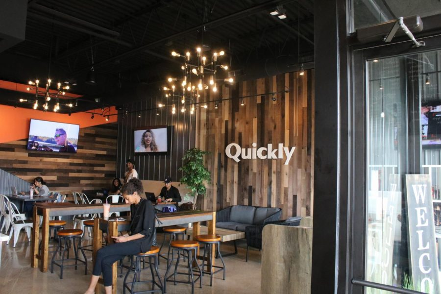 Quickly+Bubble+Tea+officially+opens+on+Rochester+Road%2C+bringing+boba+to+troy.+